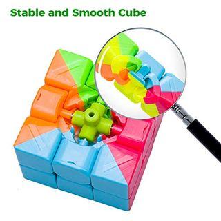 SPLAKS Zauberwürfel 3x3x3 magisch Würfel Speed Cube
