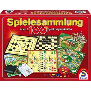 Schmidt Spiele  Spielesammlung MIt 100 Spielmöglichkeiten