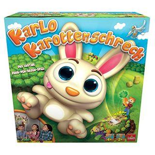 Goliath 30512 Kinderspiel Karlo Karottenschreck