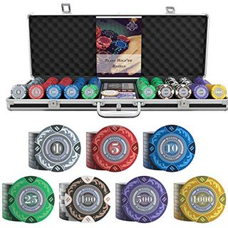 Bullets Playing Cards Großer Pokerkoffer Tony Deluxe Pokerset