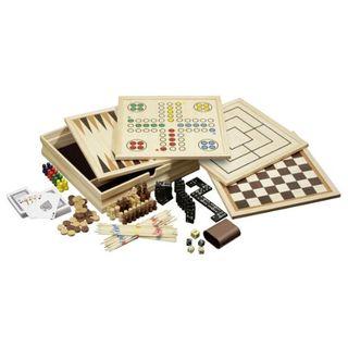 Philos 3098 Holz-Spielesammlung medium