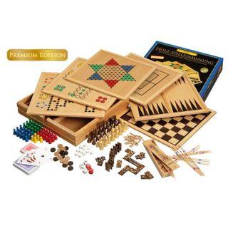 Philos Holz-Spielesammlung Premium Edition