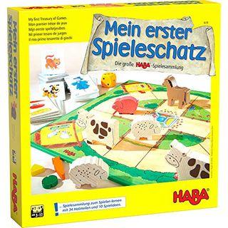 Haba 4278 Mein erster Spieleschatz Die große Haba-Spielesammlung