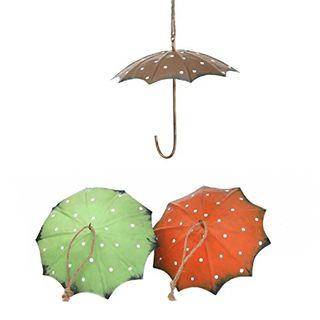 Dio Meisenknödel-Halter Regenschirm Metall 3 Farben grün