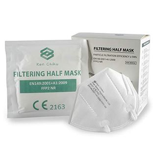 Ken Chiku 20 Stück FFP2 4-lagige Filtrations-Gesichtsmaske