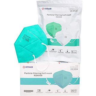 Rysam Mundschutz Zertifizierte FFP2 Maske