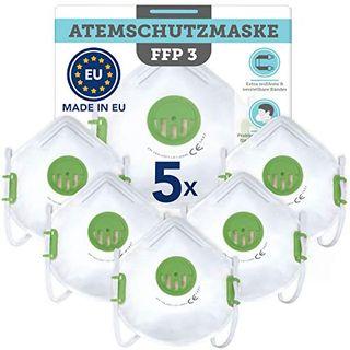 5 Stück CE-zertifizierte Masken