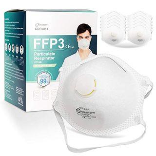 10 X AOSANITY FFP3 Atemschutzmaske