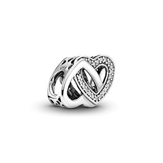 Pandora Damen Moments Verschlungene Herzen Sterling Silber
