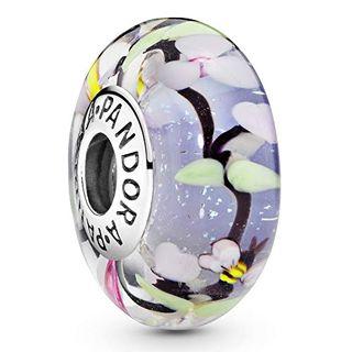 Pandora Moments Charm Gartenszene Sterling Silber