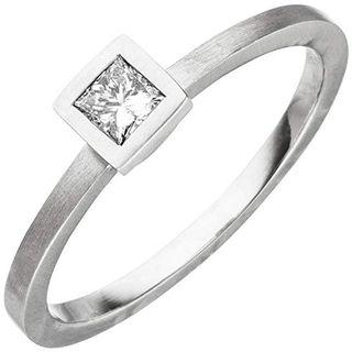 Jobo Damen-Ring aus 950 Platin