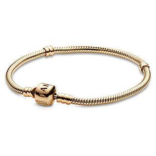 Pandora Damen-Armband 14 Karat (585) Gelbgold 18cm
