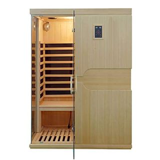 XXL Luxus LED Infrarotsauna-Infrarotkabine Wärmekabine Sauna+