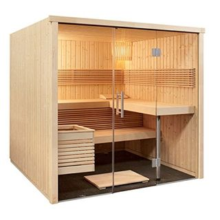 Sauna 214 x 210 x 201 cm Panorama