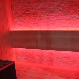 EO-SPA Sauna B1252B Pappelholz/120x110/3kW EOS BiO-Mini