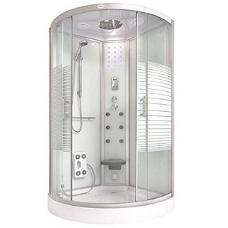 Home Deluxe Dampfdusche 100x100