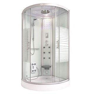Home Deluxe Dampfdusche 90x90