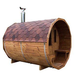 bambus-discount.com Saunafass liegend Bausatz