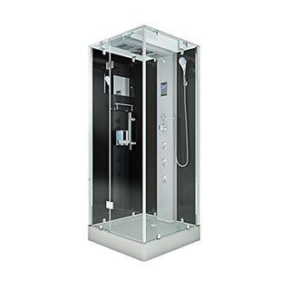 AcquaVapore DTP6038-3302L Dusche Dampfdusche Duschtempel Duschkabine 90x90
