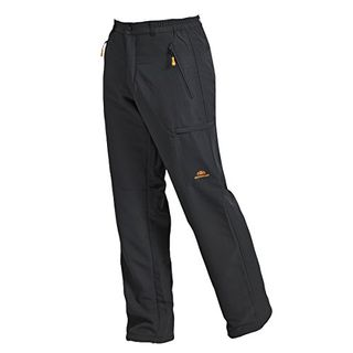 Nordcap Herren Thermohose Funktionelle Wintersport-Hose in Anthrazit