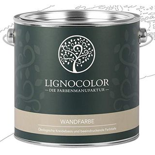 Lignocolor Wandfarbe Innenfarbe Deckenfarbe Kreidefarbe edelmatt
