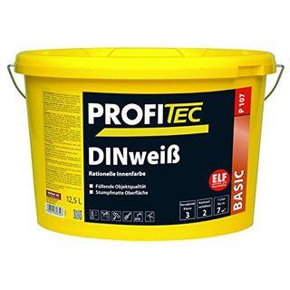 ProfiTec P107 DIN-weiß Profi Wandfarbe Innenfarbe matt