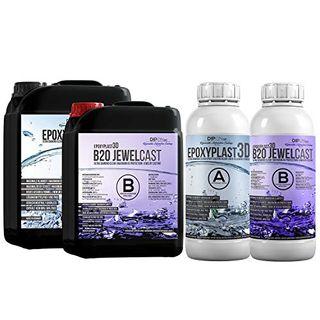 Epoxidharz EpoxyPlast 3D B20 Jewel Cast 3,0 KG