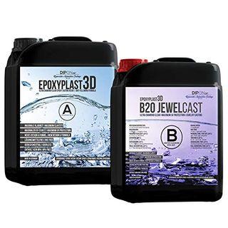 Epoxidharz EpoxyPlast 3D B20 Jewel Cast 4,5 KG