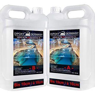 10,56kg DIPOXY-2K-700PRO Epoxidharz 2K bis 10cm