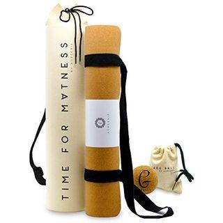 aGreenie Premium Eco Yogamatte Tasche Set