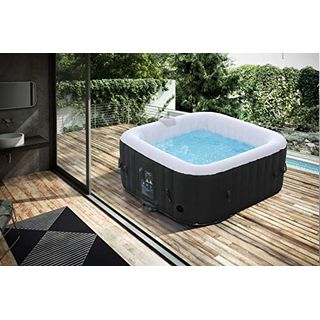 Arebos aufblasbarer Whirlpool In-Outdoor