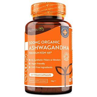 Nutravita Bio Ashwagandha 60 vegane Kapseln