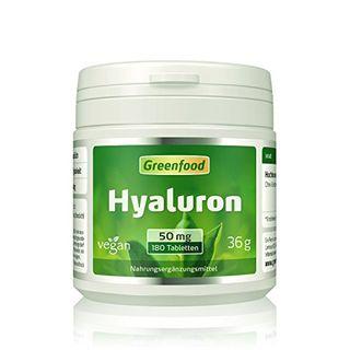 Greenfood Hyaluron 50 mg reines Hyaluron