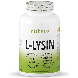 Nutri + L-LYSIN Kapseln hochdosiert