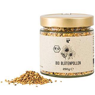 beegut BIO Blütenpollen 250g mild süße Bienenpollen
