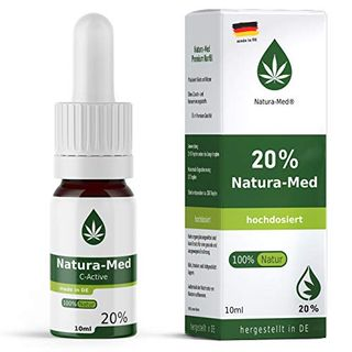 Med-Natura 20% C-Active Natur Öl Tropfen 10ml