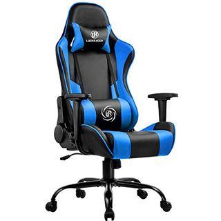 LUCKRACER Gaming Stuhl Bürostuhl Gamer Ergonomischer Stuhl die erneuerten
