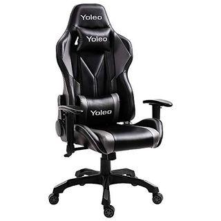 YOLEO Gaming Stuhl Bürostuhl Racing Stuhl Gamer Ergonomischer