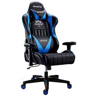 AutoFull Gaming Stuhl Schreibtischstuhl Gamer Ergonomischer