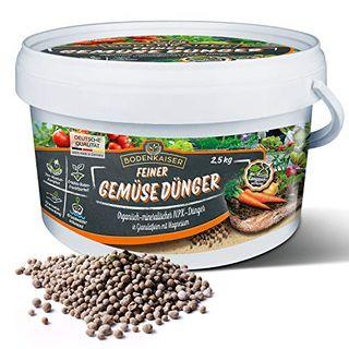 Bodenkaiser Gemüsedünger organisch-mineralischer Dünger