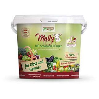 Molly Bio Schafwolldünger für Obst- und Gemüse 2,1kg
