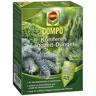 Compo Koniferen Langzeit-Dünger für alle Arten von Nadelgehölzen und Immergrünen
