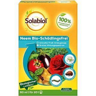 Solabiol Neem Bio-Schädlingsfrei biologische Schädlingsbekämpfung an Zierpflanzen