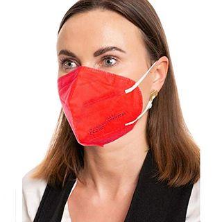 ProMedicalCare Mundschutz FFP2 Maske rot