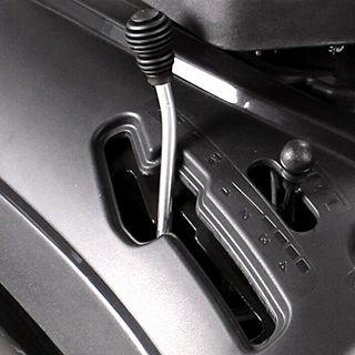 BRAST Benzin Rasentraktor Aufsitzmäher 4,8kW