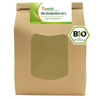 Piowald BIO Hanfprotein 1 kg Vorratspack