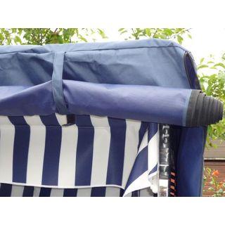 XINRO Volllieger Strandkorb blau XL