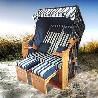 BRAST Strandkorb Deluxe 2-Sitzer XXL