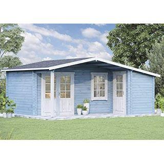 Alpholz Gartenhaus Nordkapp-40 A aus Massiv-Holz