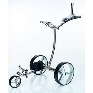 GT-R Elektrischer Golftrolley Edelstahl Fernbedienung einschließlich Zubehör